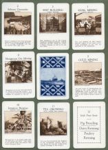 Collectable Vintage cards game Countries of the Empire